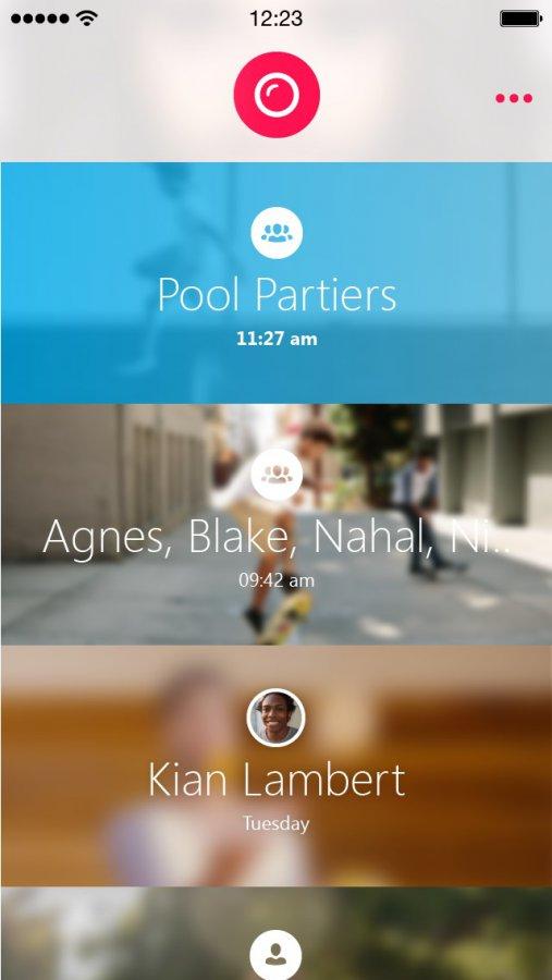 Skype Qik - обмен видеосообщениями с мобильного